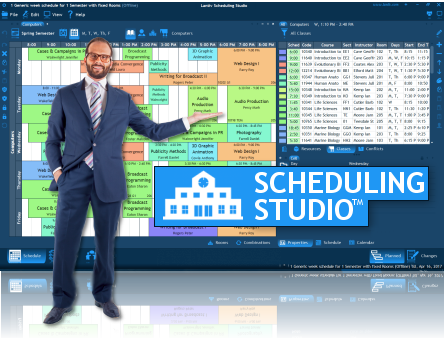 College & University Scheduling Software - Lantiv Scheduling Studio